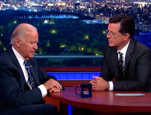 [MUST SEE] The Late Show with Stephen Colbert Interview with Vice President Joe Biden Parts 1 & 2